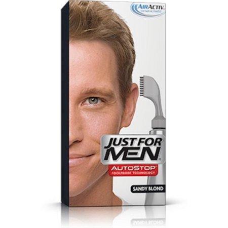 JUST FOR MEN AutoStop Foolproof Hair Color, Sandy Blond A-10 1