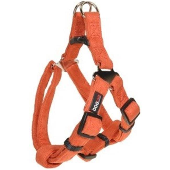 19-25 L x 0.34 W in. Comfort Microfiber Step-In Harness, Orange