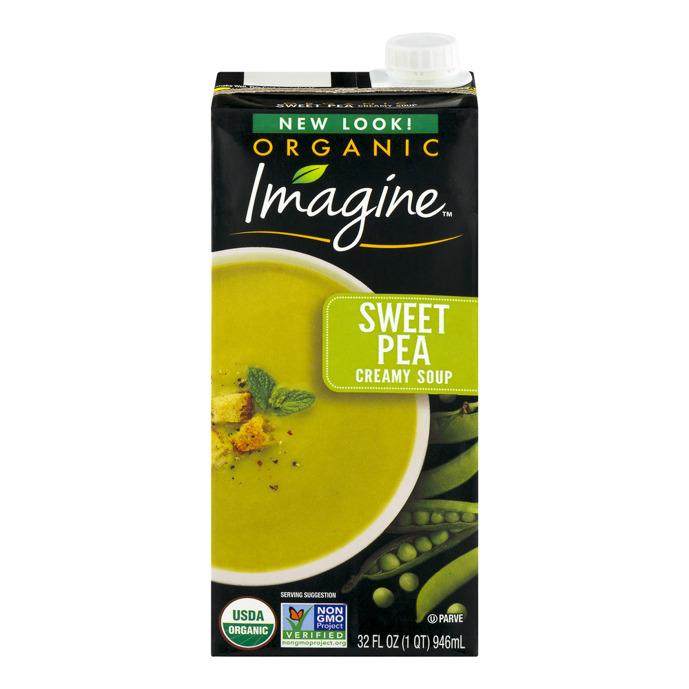 Imagine Organic Sweet Pea Creamy Soup, 32.0 FL OZ