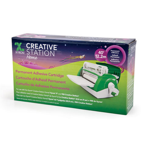 Xyron Refill For Creative Station Perm Adhesive 9In 40Ft