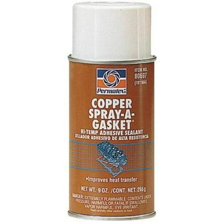 Permatex 80697 Copper Spray-A-Gasket - 12 oz - Copper Spray