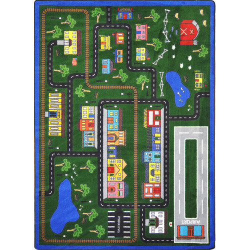 Wildon Home  Chyna  Green Area Rug