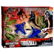 Godzilla 2014 Destruction City Playset [Random Color Buildings]