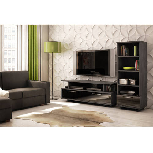 "South Shore Reflekt TV Stand with Drawers for TVs up to 60"", Multiple Finishes"