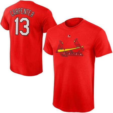 Matt Carpenter St. Louis Cardinals Majestic Youth Player Name & Number T-Shirt - Red