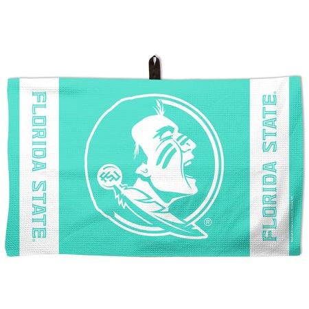 "Florida State Seminoles WinCraft 14"" x 24"" Pastel Waffle Golf Towel - Green - No Size"
