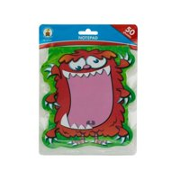 Kole Imports OP828-24 6.25 x 5.75 in. Monster Notepad, Pack of 24