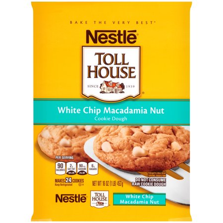 Nestle White Chocolate Chip Macadamia Cookies