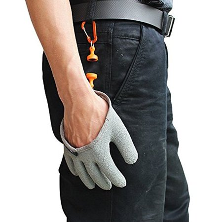 Inf-way Fishing Glove with Magnet Release, Fisherman