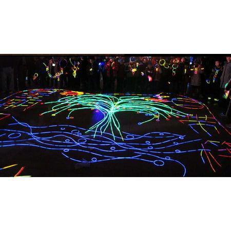 100X Glow Sticks Bracelet Necklaces Neon Party Lights Premium Party Favors--8 Colors 100 x 8inch