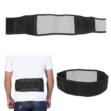 Magnetic Therapy Waist Belt, Magnetic Waist Belt,Self-heating Thermal Magnetic Heat Waist Belt Pain Relief Lower Back Lumbar Therapy Support