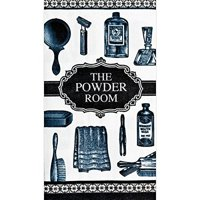 """the powder room"" hand towels 