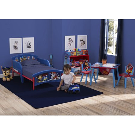 Nick Jr. PAW Patrol Wood Kids Storage Table and Chairs Set by Delta