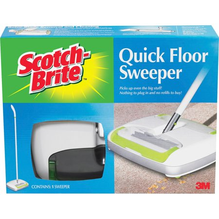 Scotch-Brite, MMMM007CCW, Quick Floor Sweeper, 1 Each,
