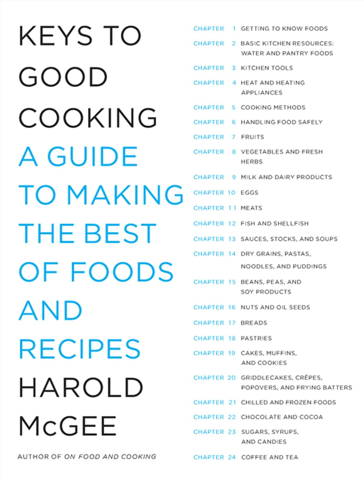 On Food And Cooking Ebook