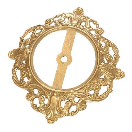 B&P Lamp® Fine Quality, Die Cast Brass Lamp Base, 7 1/4