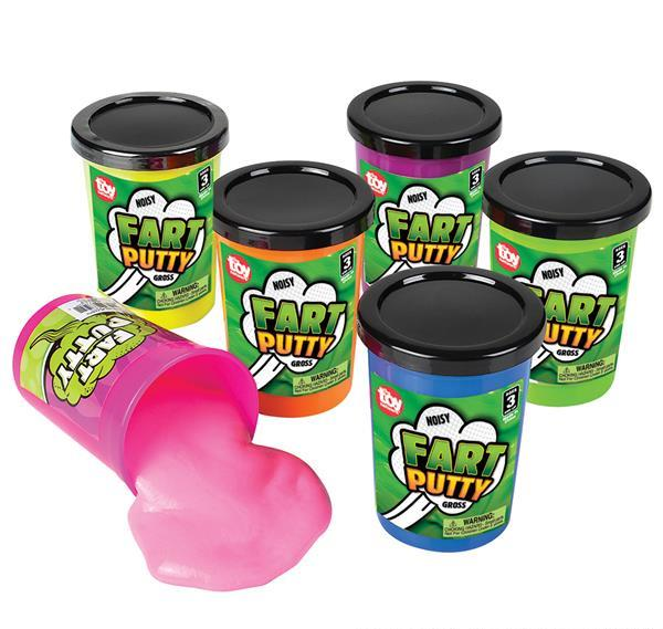 "3"" FART PUTTY, Case of 72"