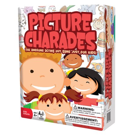 Outset Media Picture Charades - The Awesome Acting Out Game Just For Kids!