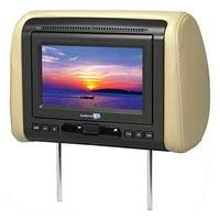 """Voxx 7"""" headrest HD DVD Monitor System"""