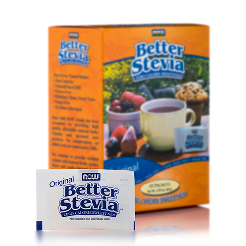 Better Stevia��� Extract Packets, Original - Box of 45 Packets by NOW