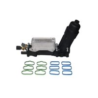 Engine Oil Cooler & Filter Housing Adapter Kit - Replaces# 68105583AF, 68105583AE - Fits 3.6L V6 Chrysler 200, Town & Country, Dodge Grand Caravan, Jeep Grand Cherokee, Wrangler, Ram 1500, 2500 & More
