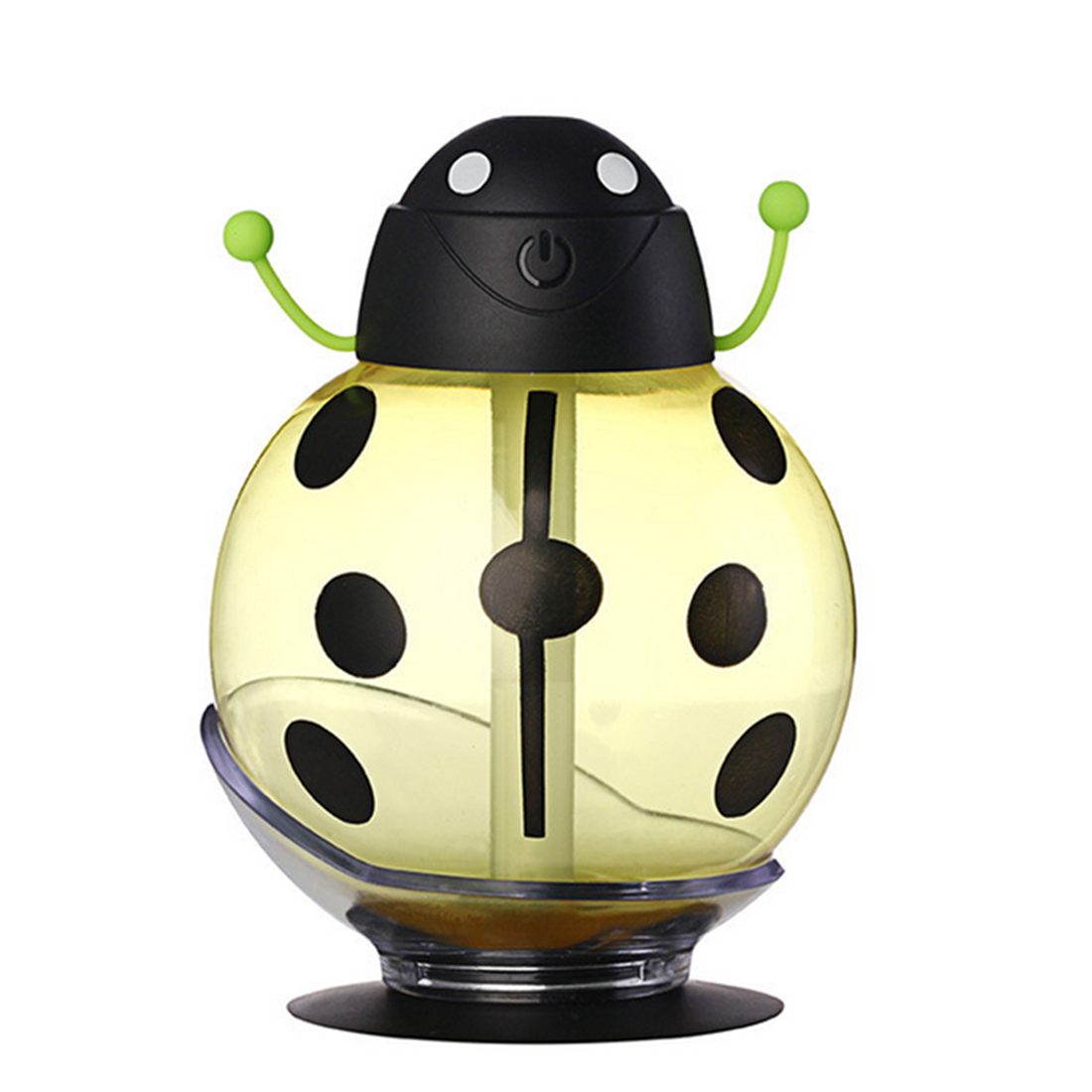 260ML Detachable Mini USB Beetle Humidifier For Home Office Use Night Light - Yellow
