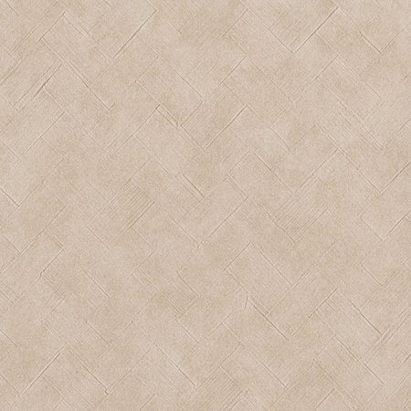 Warner Textures Texture Taupe Basketweave Wallpaper