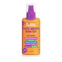Rock the Locks Curls Wanna Have Fun Curl Boost Spray, Orange Creamsicle, 5 Oz