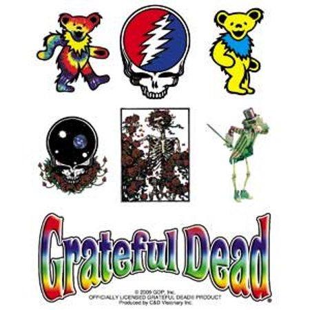 Grateful Dead - Assorted Icons - Die Cut Vinyl Sticker Decal
