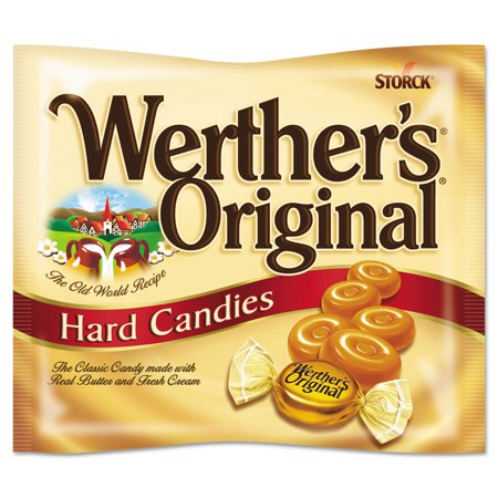 Werther's Original Original Butter & Cream Hard Candies, 9oz Bag