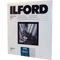 11x14-50 Sheets Glossy Surface Ilford Multigrade RC Warmtone VC B /& W Enlarging Paper