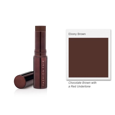 Fashion Fair Fast Finish Foundation Stick - Ebony Brown