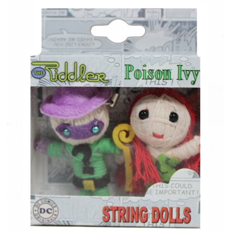 Cell Phone Charm - DC Comic - Riddler & Poison Ivy String Doll (Ivy Charm)