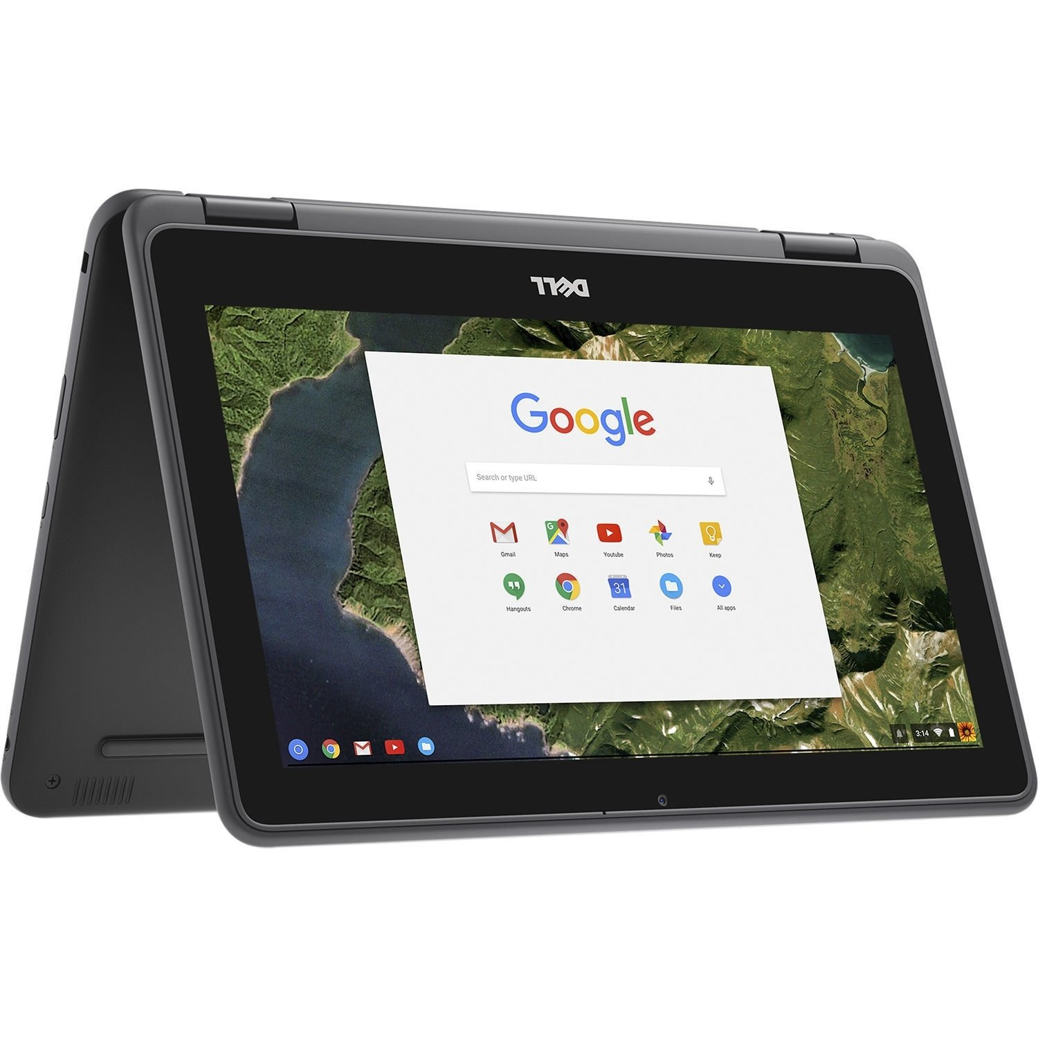 Dell Chromebook 11 - 3189 Intel Celeron N3060 X2 1.6GHz 4GB 32GB, Black (Certified Refurbished)