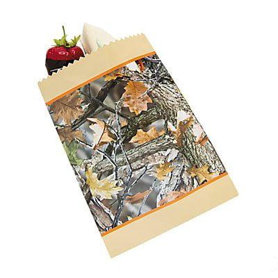 Camouflage Wedding Cake Bags~2 - Camouflage Wedding Cakes