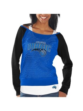 Orlando Magic Women's Holy Raglan Long Sleeve Top and Tank Top Set - Royal Blue