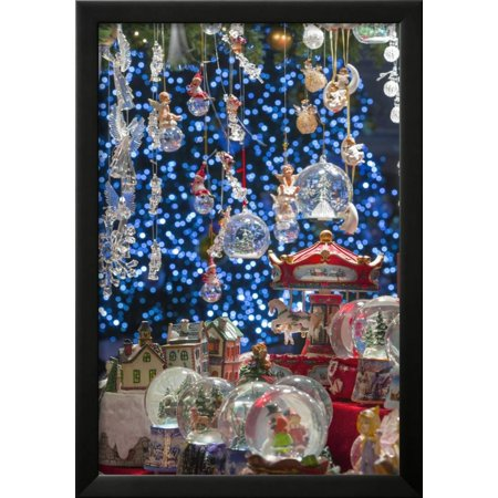 christmas ornaments for sale in the verona christmas market italy framed print wall art by jon hicks walmartcom - Walmart Christmas Decorations Sale
