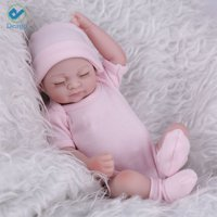 """Deago 11"""" Reborn Newborn Baby Realike Doll Handmade Lifelike Silicone Vinyl Weighted Alive Lovely Cute Doll Gifts"""