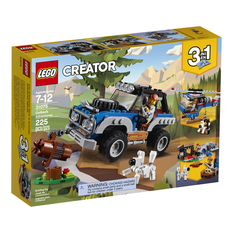 c4a6234677e LEGO Creator 3in1 Outback Adventures 31075 (225 Pieces) - Walmart.com