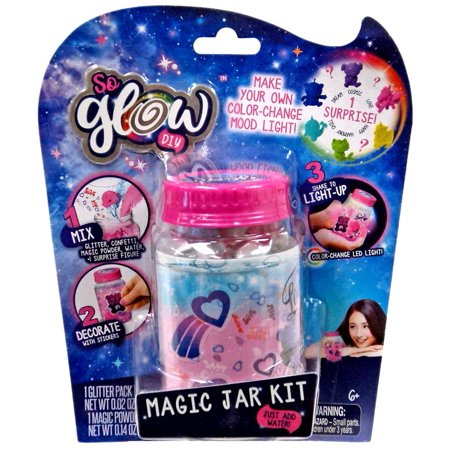 So Glow DIY Mini Magic Jar Love Kit - Diy Glow Jars