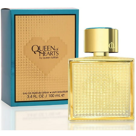 2 Pack - Queen Latifah Queen Of Hearts Eau de Parfum Spray 3.40