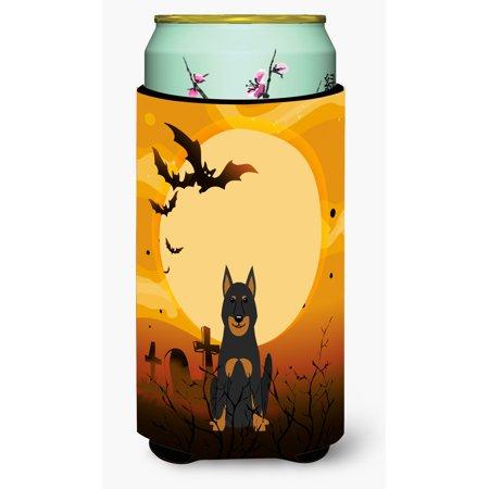 Halloween Beauce Shepherd Dog Tall Boy Beverage Insulator Hugger BB4346TBC](Halloween Names For Boy Dogs)