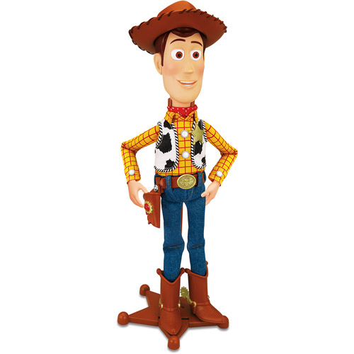 Thinkway Toy Story Talking Sheriff Woody Action Figure