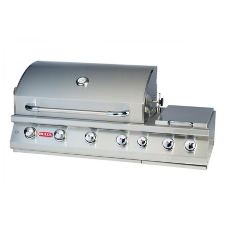 Bull Outdoor 7 Burner Stainless Steel Premium Propane Barbecue Grill 18248