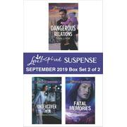 Harlequin Love Inspired Suspense September 2019 - Box Set 2 of 2 - eBook