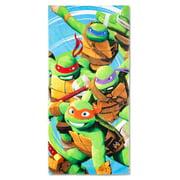 """Teenage Mutant Ninja Turtles """"Turtle Jump"""" Cotton Beach Towel"""