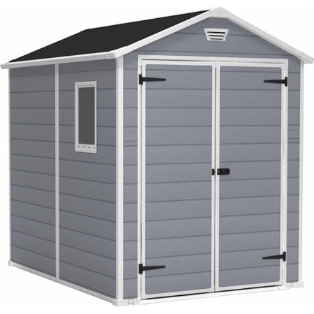 Keter Manor 6' x 8' Resin Storage Shed,