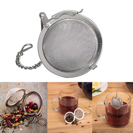 Stainless Steel Loose Tea Infuser Mesh Ball Spice 3
