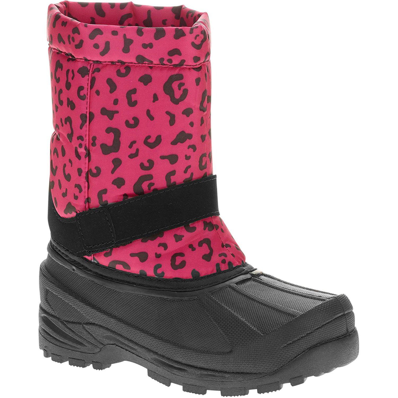 Ozark Trail Girls' Pink Leopard Winter