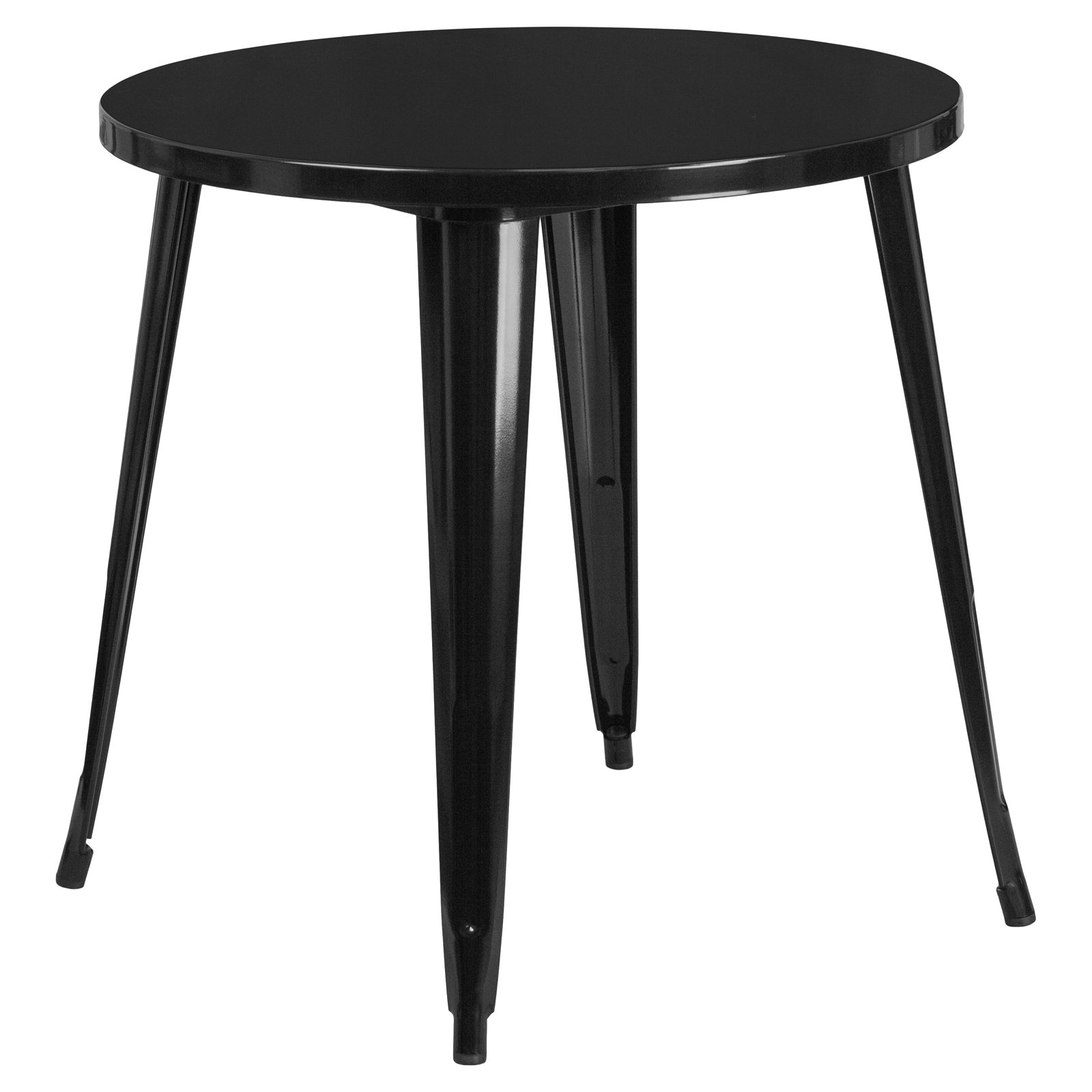 Flash Furniture 30'' Round Metal Indoor-Outdoor Table, Multiple Colors